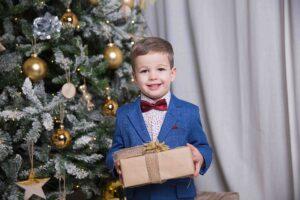 Детская новогодняя фотосессия заказать