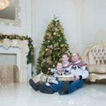 Новогодние фотосессии в студии 2018 Москва