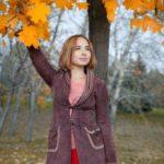 Осенние фотосессии девушек в парке