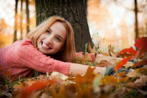 Осенние фотосессии на природе