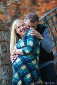 Осенняя фотосессия беременной