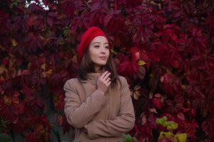 Осенняя фотосессия девочки