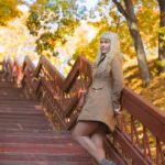 Осенняя фотосессия на улице