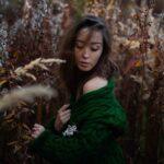 Осенняя фотосъемка в лесу