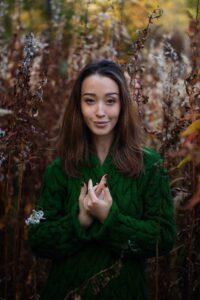 Осенняя фотосъемка в поле
