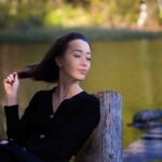 Осенняя фотосъемка девушки