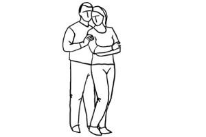 Позы для романтической фотосессии для двоих