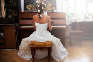 Сборы невесты дома