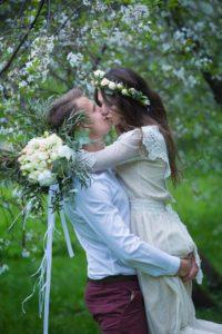 Свадебная фотосессия в Коломенском