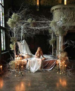 Съемки свадьбы в студии