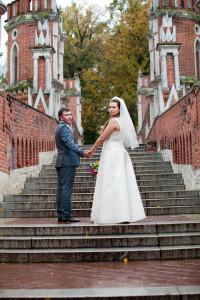 Фотограф на свадьбу в Царицыно