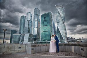 Фотосессия в Москва сити