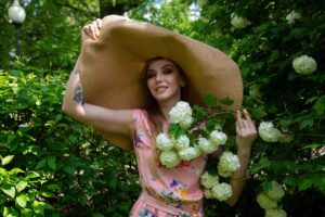 Фотосессия в шляпе Москва