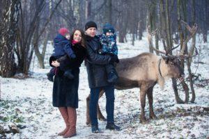Фотосессия с Оленем в Москве