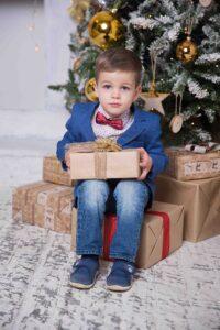 Фотосъемка на новый год для детей