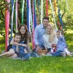идеи семейной фотосессии с ребенком