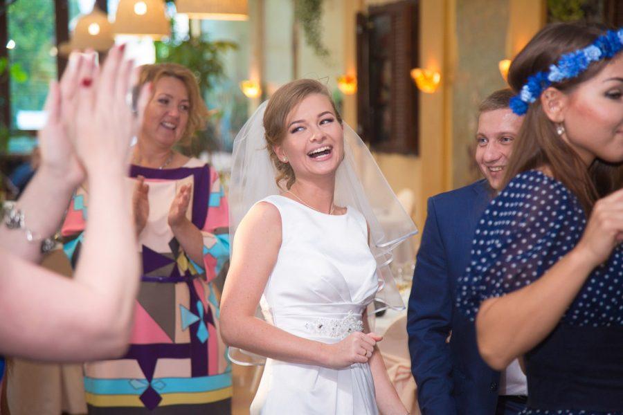Красивая свадебная фотосессия в Москве