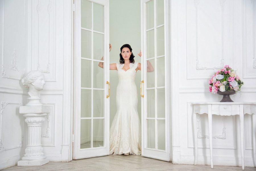 Свадебная фотосессия в студии Москва