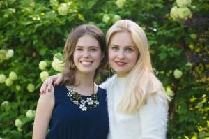 семейная фотосессия в Москве весной мамы и дочки
