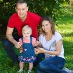 семейная фотосессия летом