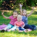 семейная фотосессия с детьми