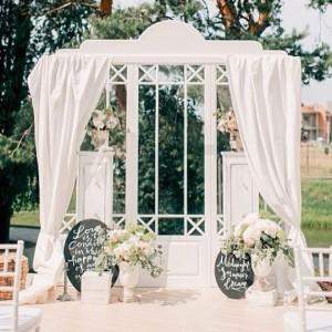 Арка на свадьбу для фотосессий