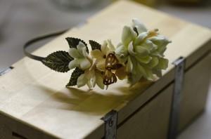 свадебный букет из полимерной глины