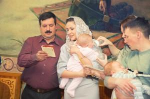 Фотограф на крещение детей в Москве