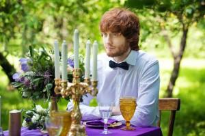 Свадебная фотосессия с декором в Москве