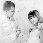 фотосессия беременных осенью