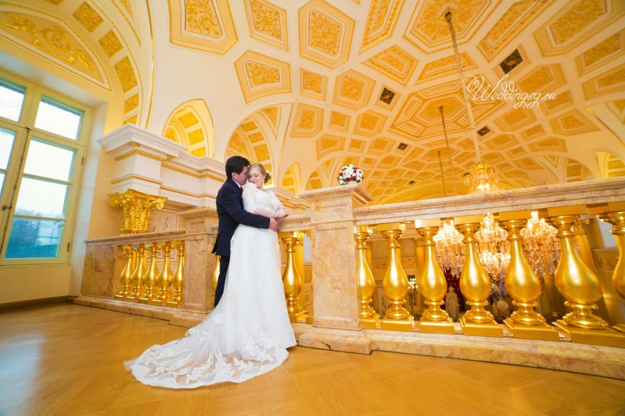 X места для свадебной фотосессии в Москве зимой