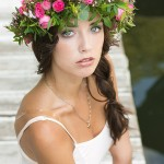 весенний портрет девушки