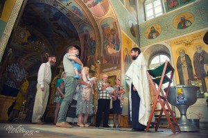 Профессиональный фотограф на крещение в Москве