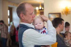 Фотограф на крещение ребенка в Апрелевке