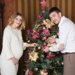 Новогодняя Фотосессия беременных в Москве