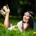 Идеи весенней фотосессии для девушки
