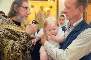 фотограф на крещение в Химках