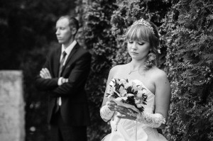 чб свадебные фотографии в Звенигороде