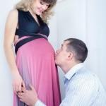 фотосессия для беременных в студии Москва