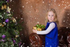 Новогодние фотосессии детей