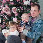 Новогодняя фотосессия семейная