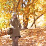 Осенние фотосессии девушек