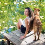 Осенняя фотосессия девушек на природе