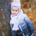 Осенняя фотосессия с ребенком