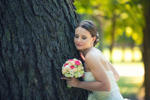 Портрет невесты в усадьбе Архангельское