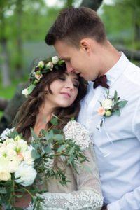 Свадебная постановочная фотосессия в Москве