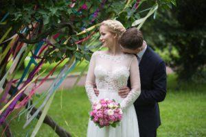 Свадебная фотосессия в Ботаническом саду