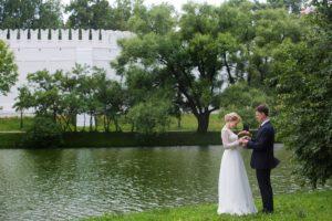 Свадебная фотосессия у Новодевичьего монастыря