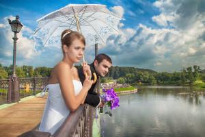 Свадебные фото в Царицыно