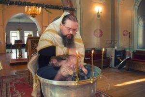 Фотограф на крещение в Жуковский